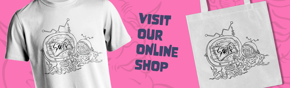 Get SQIFF 2020 merch at our online shop!